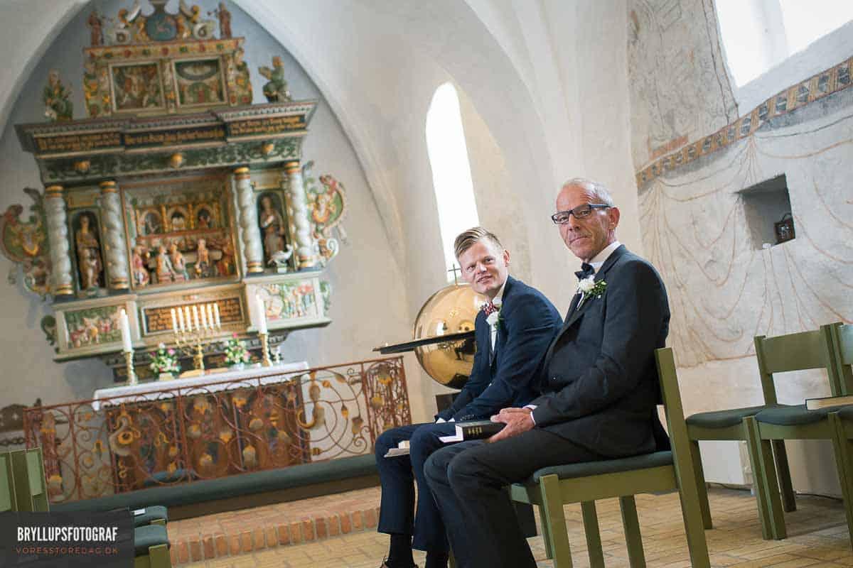 gommen og bestman i Vadum Kirke