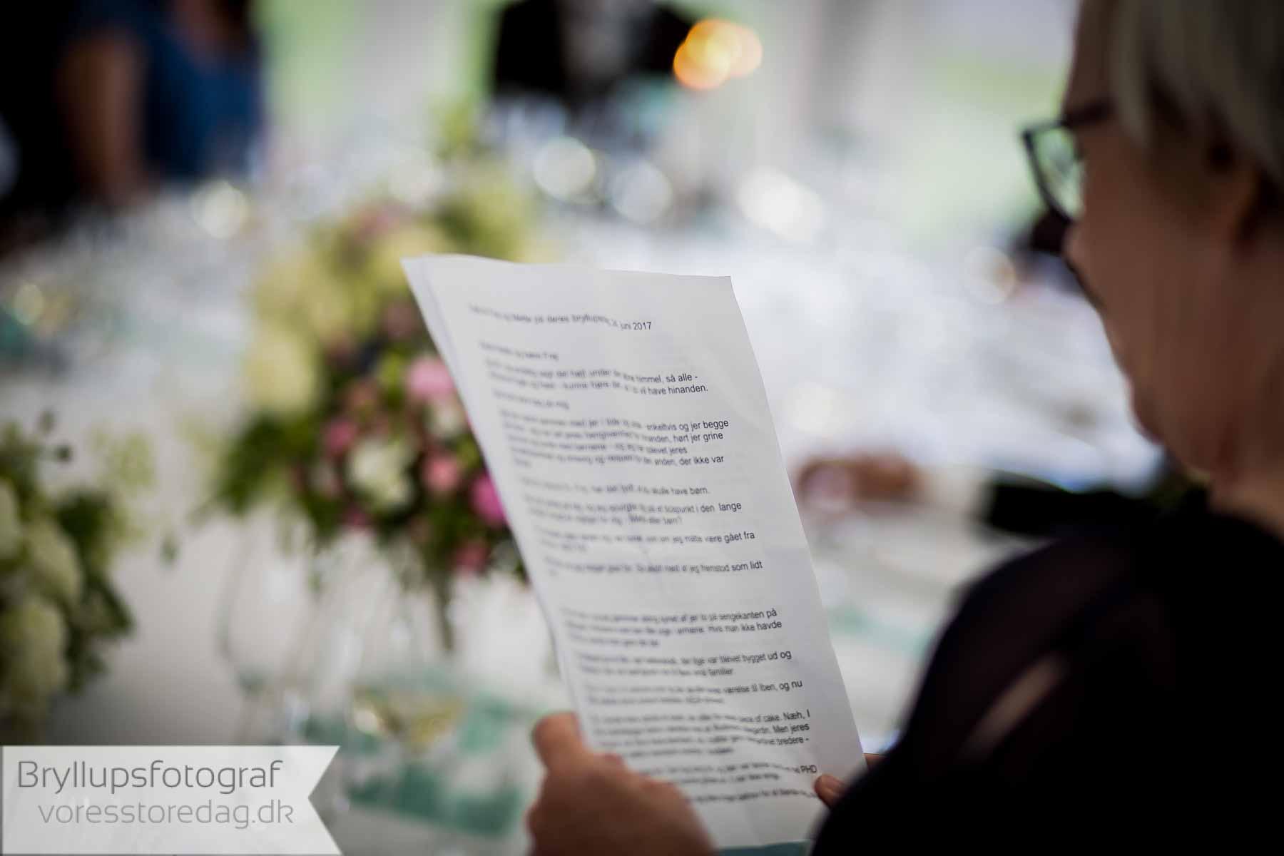 Fotografering til bryllup, fødselsdage og andre fester