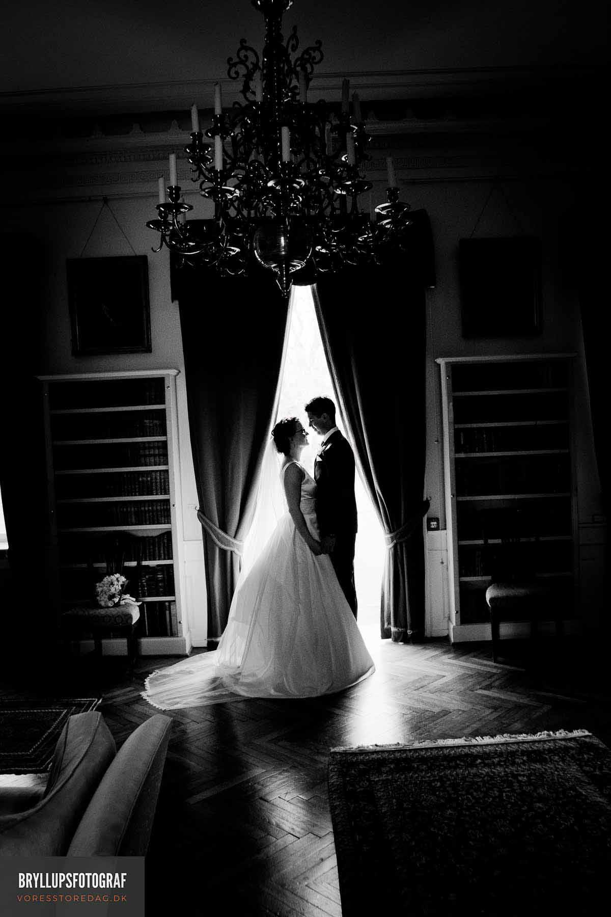 bryllupsfotograf Den røde Cottage