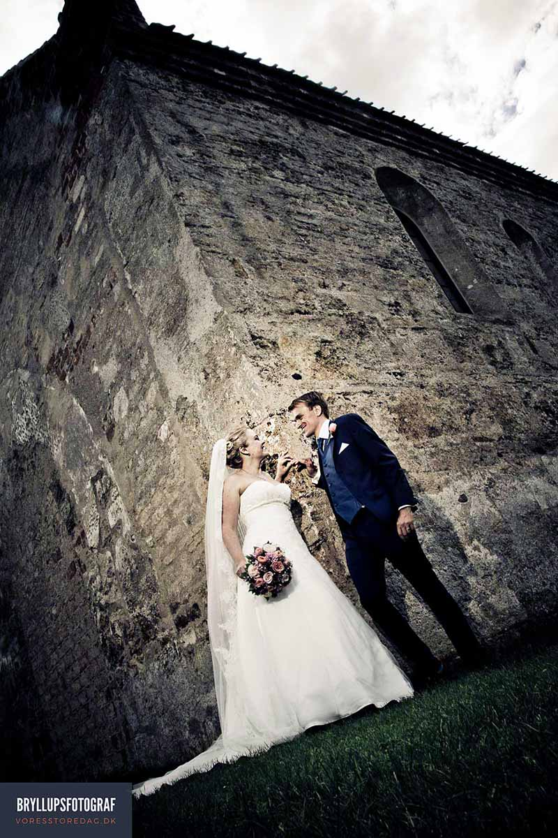 bryllupsfotografer Den røde Cottage
