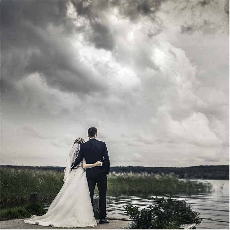 Kreativ bryllupsfoto