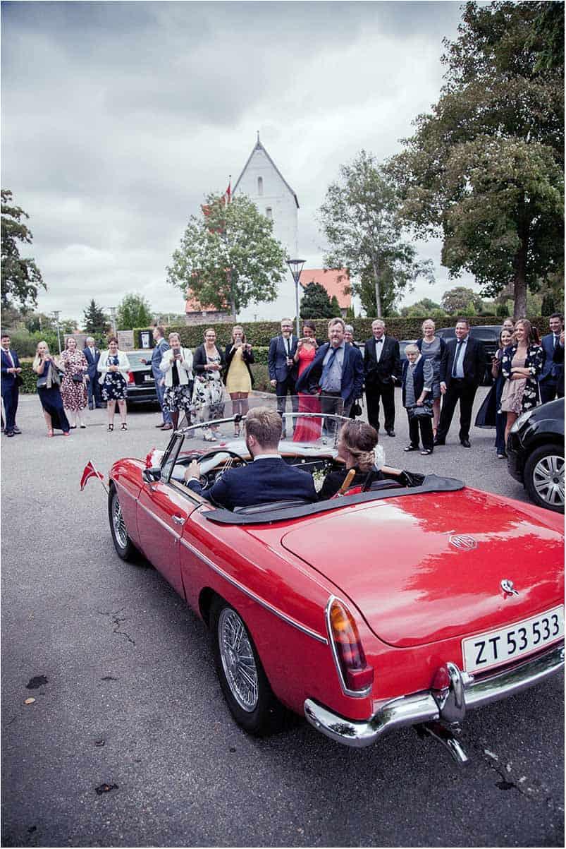 billig bryllupsfotograf Sophienberg Slot