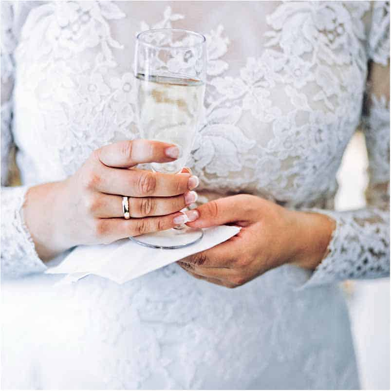 bryllup foto Sophienberg Slot