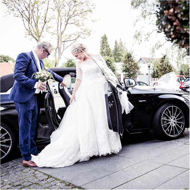 utraditionelle brudekjoler Sophienberg Slot