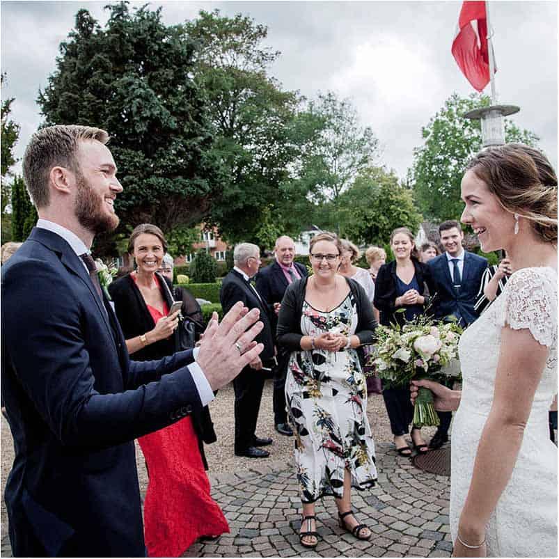 Bryllupsfotograf der skaber kreative, stilfulde og personlige billeder.