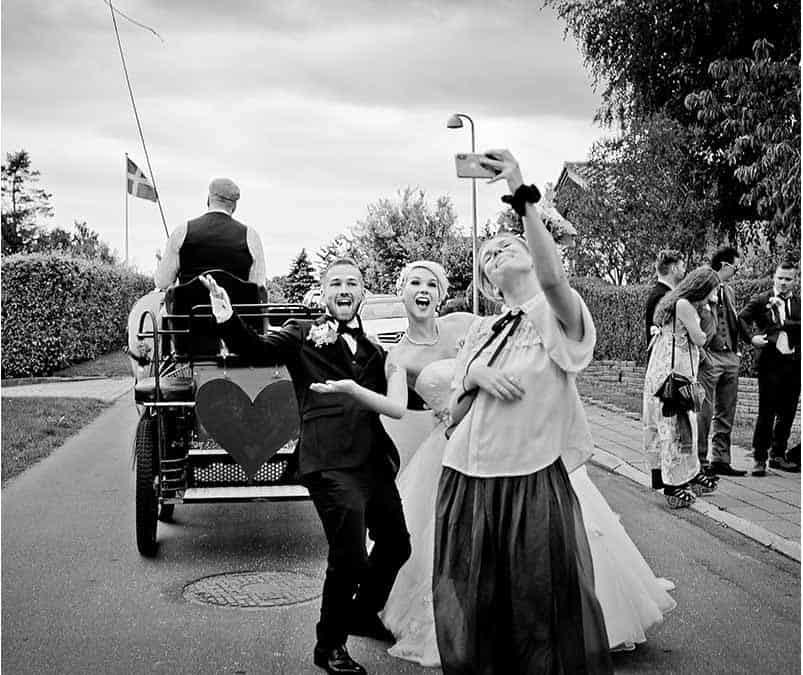 Fotodokumentarisk bryllupsfotograf