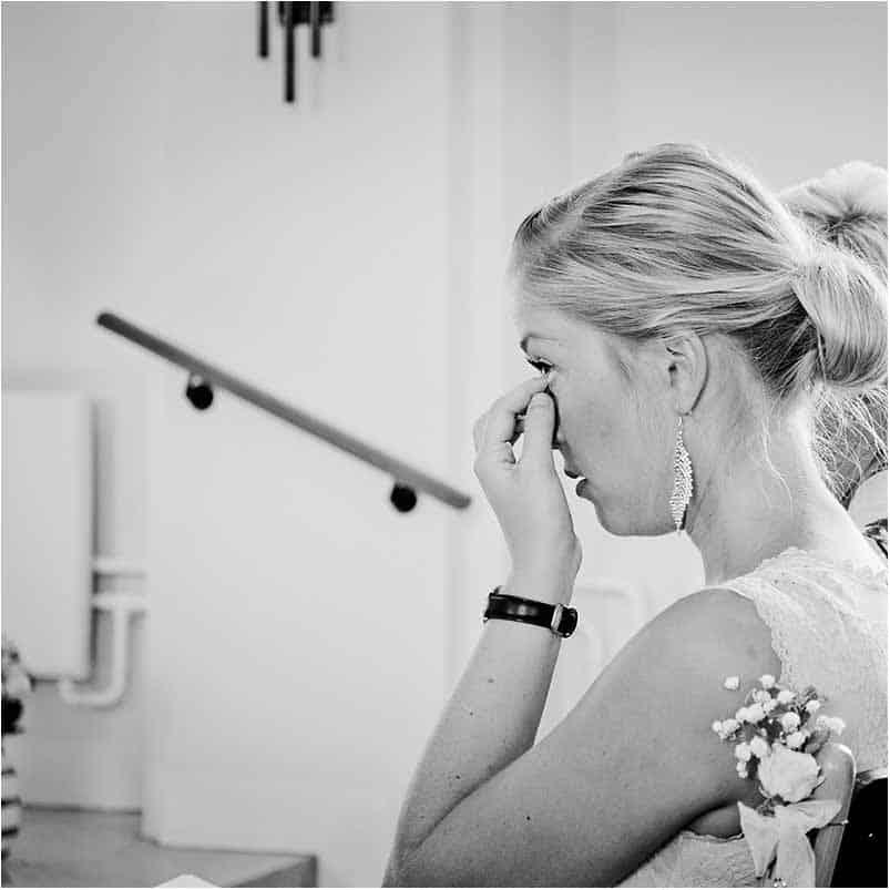 bryllupsfotograf ved Sophienberg Slot