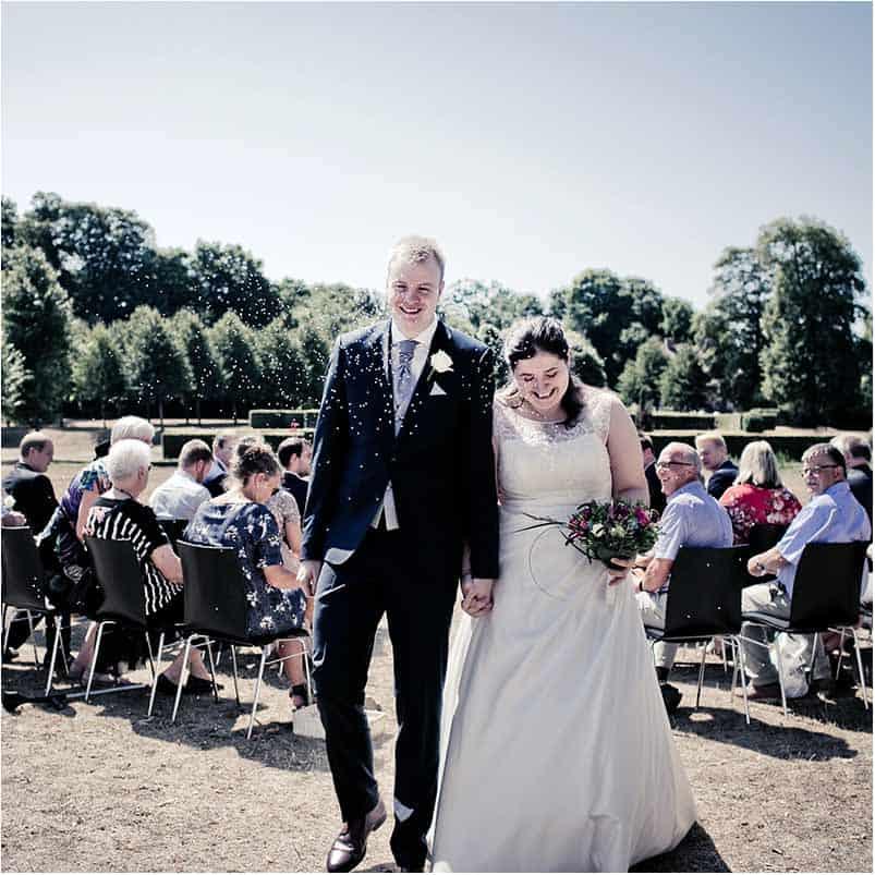 bryllupsfotograf Sophienberg Slot på Sjælland