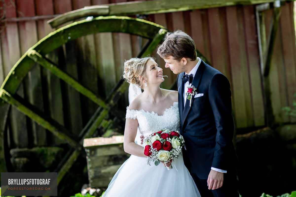 Brudepar ved Christiansminde