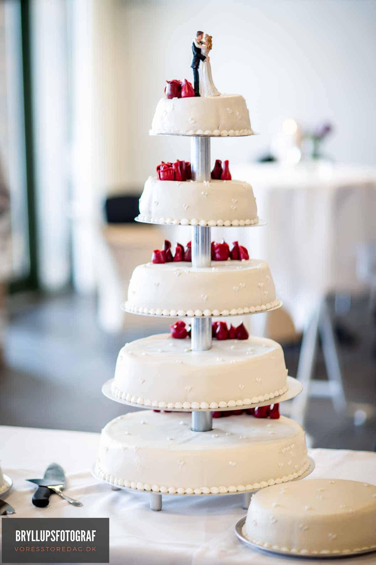 kage til bryllup