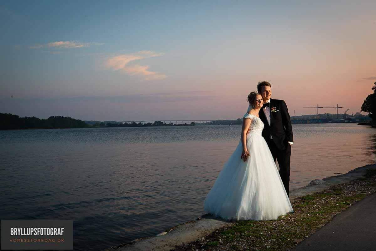 Brudeparret ved Christiansminde