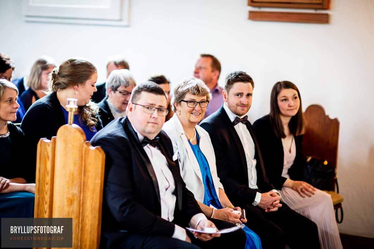 gift i Fredens Kirke