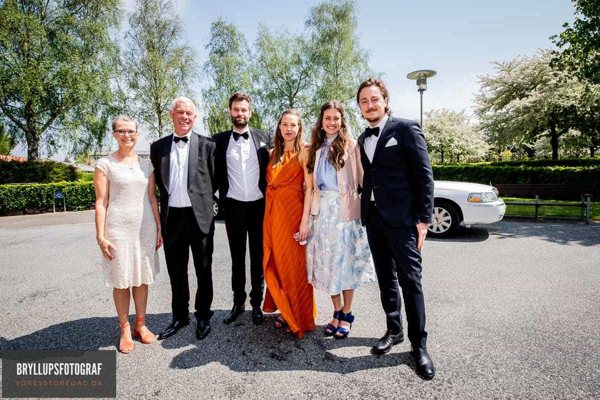 bryllupsgæster Svendborg