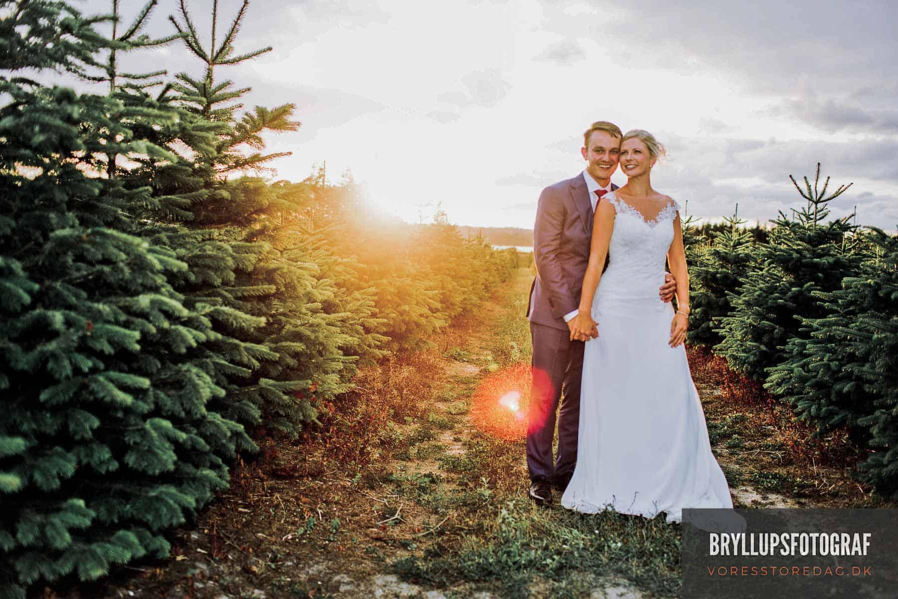 bryllup ved Svanninge Bakker