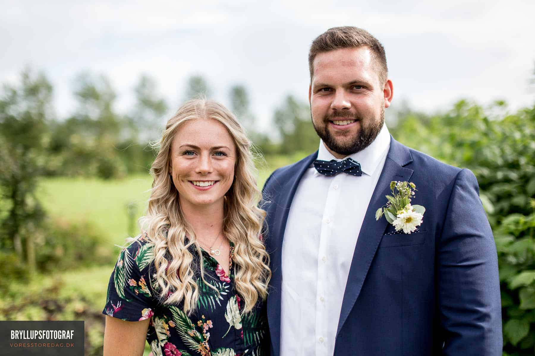 Svanninge Bakker bryllupsfotos