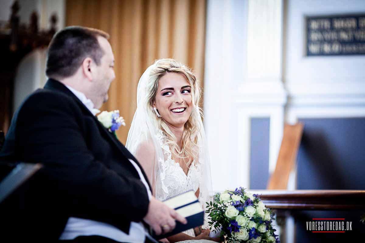 Bruden i Brahetrolleborg Kirke ved Korinth på Fyn