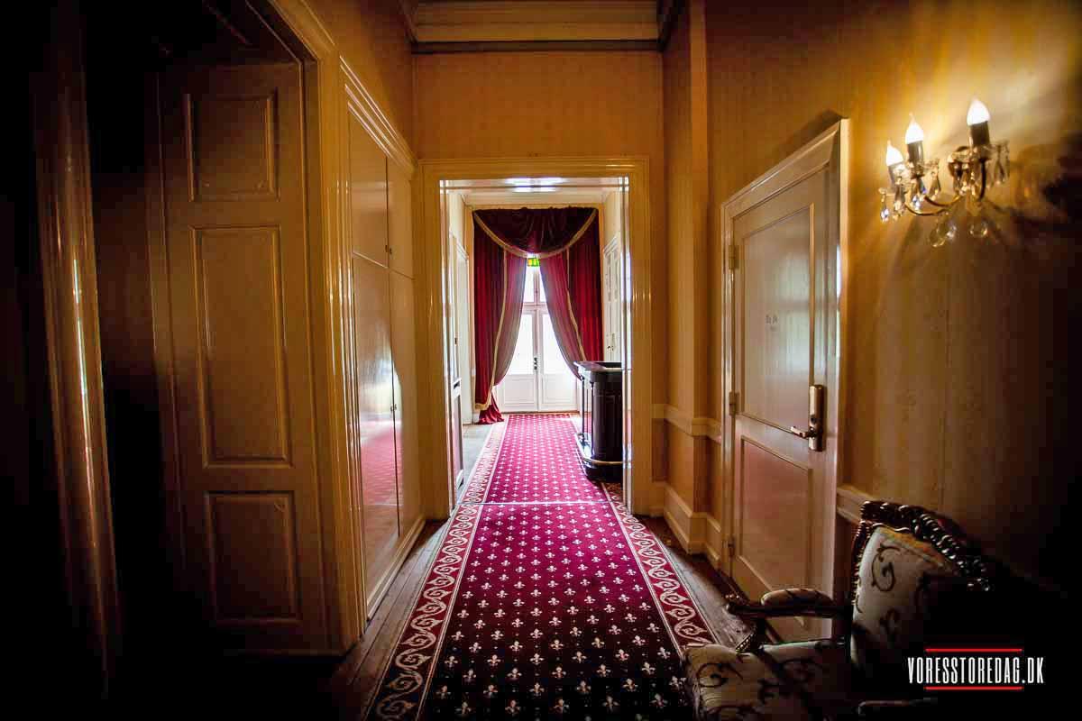 Hvedholm slot er kendt siden Valdemar den Store