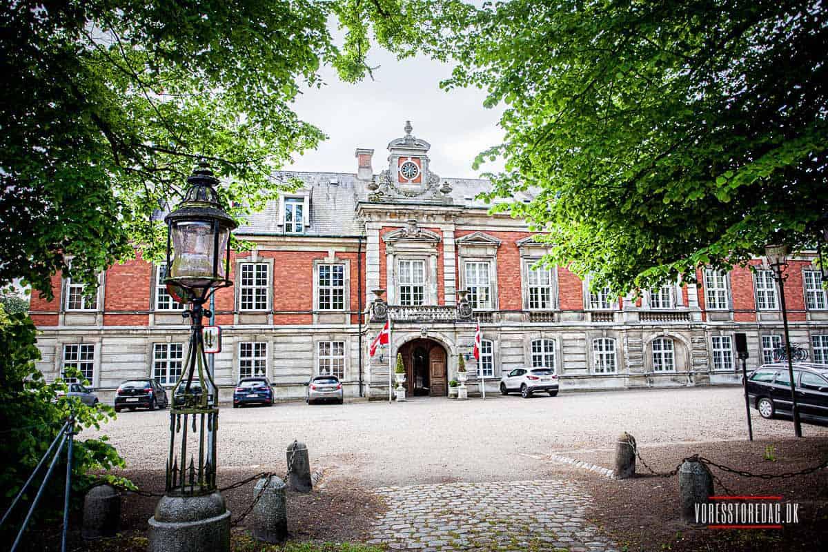 Dejligt ophold med bryllup på Hvedholm Slot