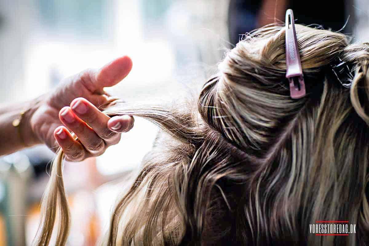brudens hår Fyn