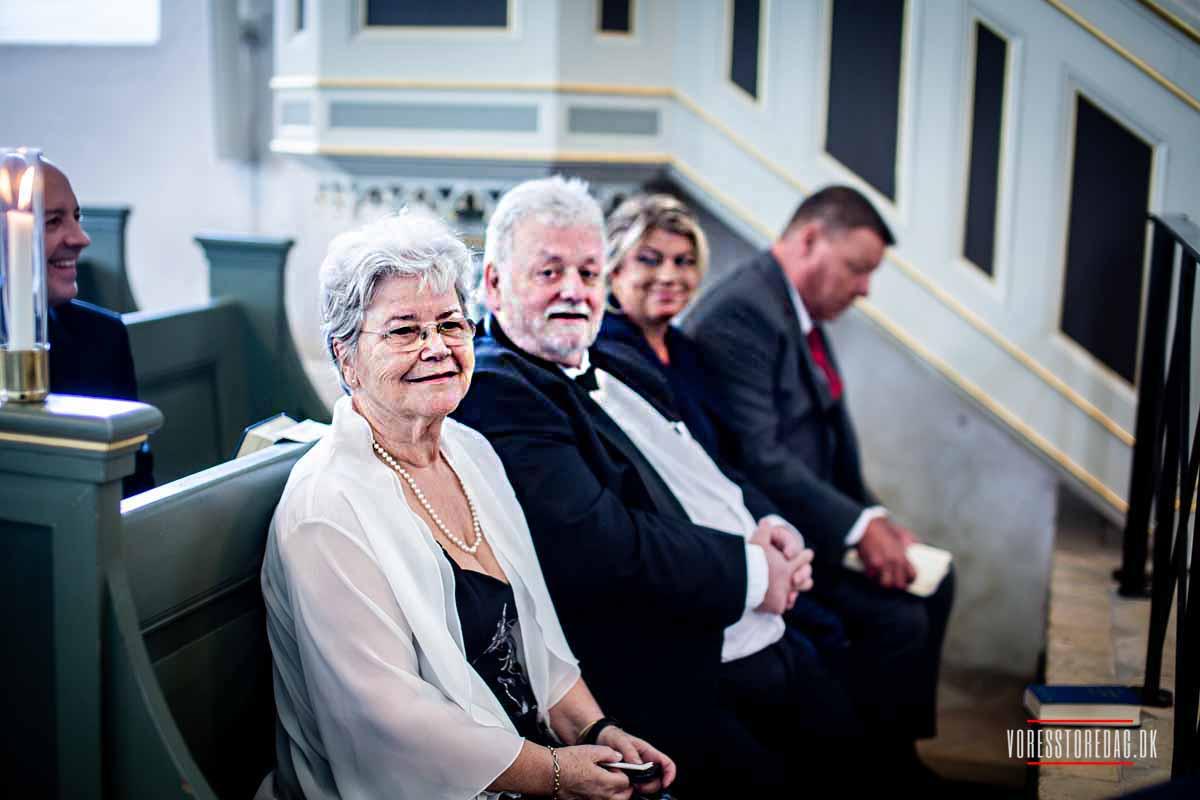 bryllupsgæster Brahetrolleborg Kirke