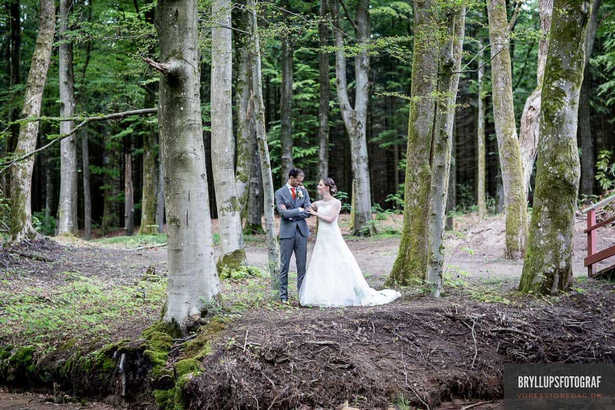 bryllupsbilleder Skarrildhus