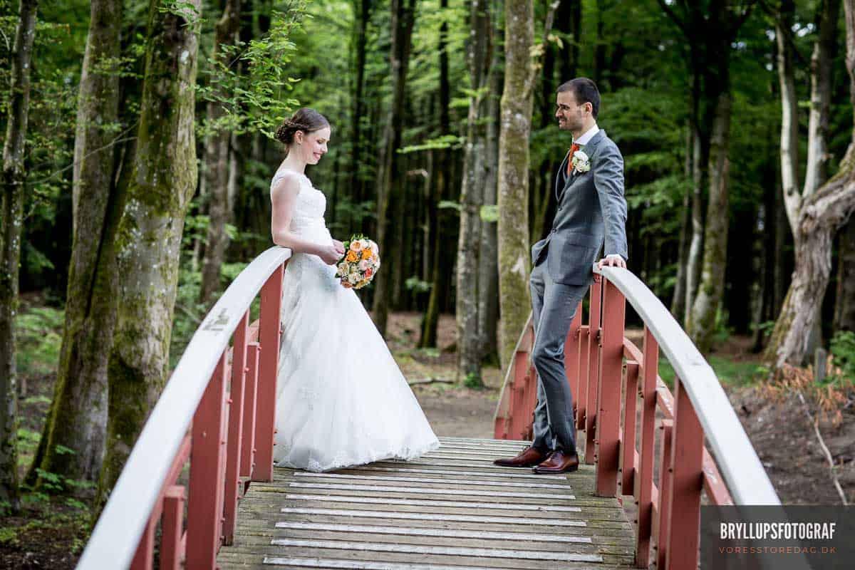 gommen og bruden Skarrildhus