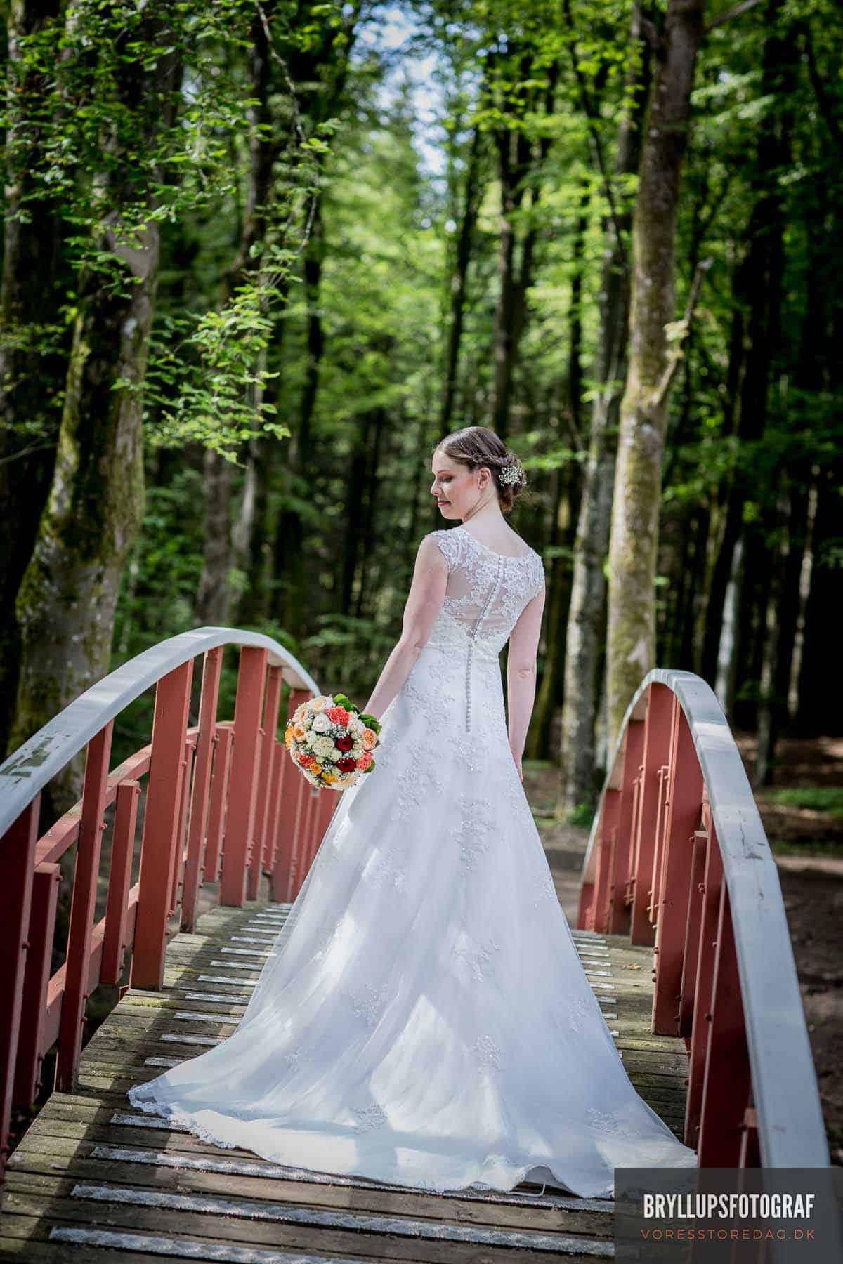 brudebillede Skarrildhus