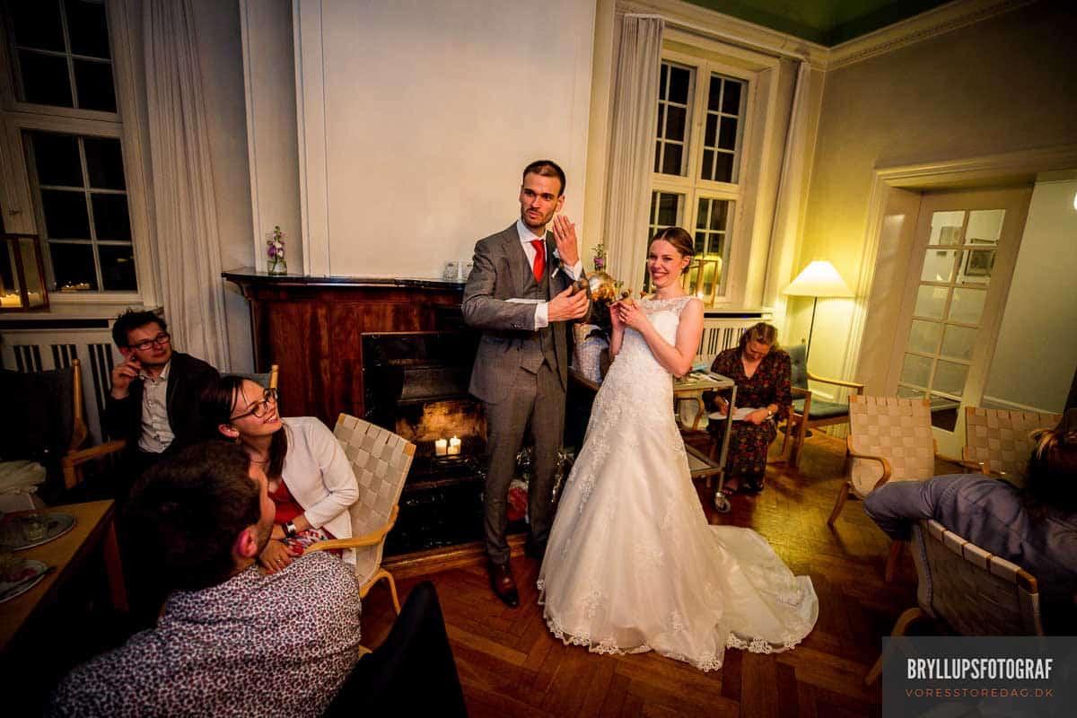 Skarrildhus bryllup - Bryllupsfotograf til Kreative bryllupsbilleder