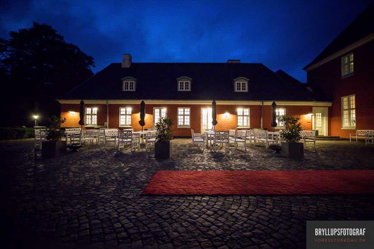 Skarrildhus. Bryllupsfesten foregår på Skarrildhus, Sdr. Ommevej 4, 6933 Kibæk