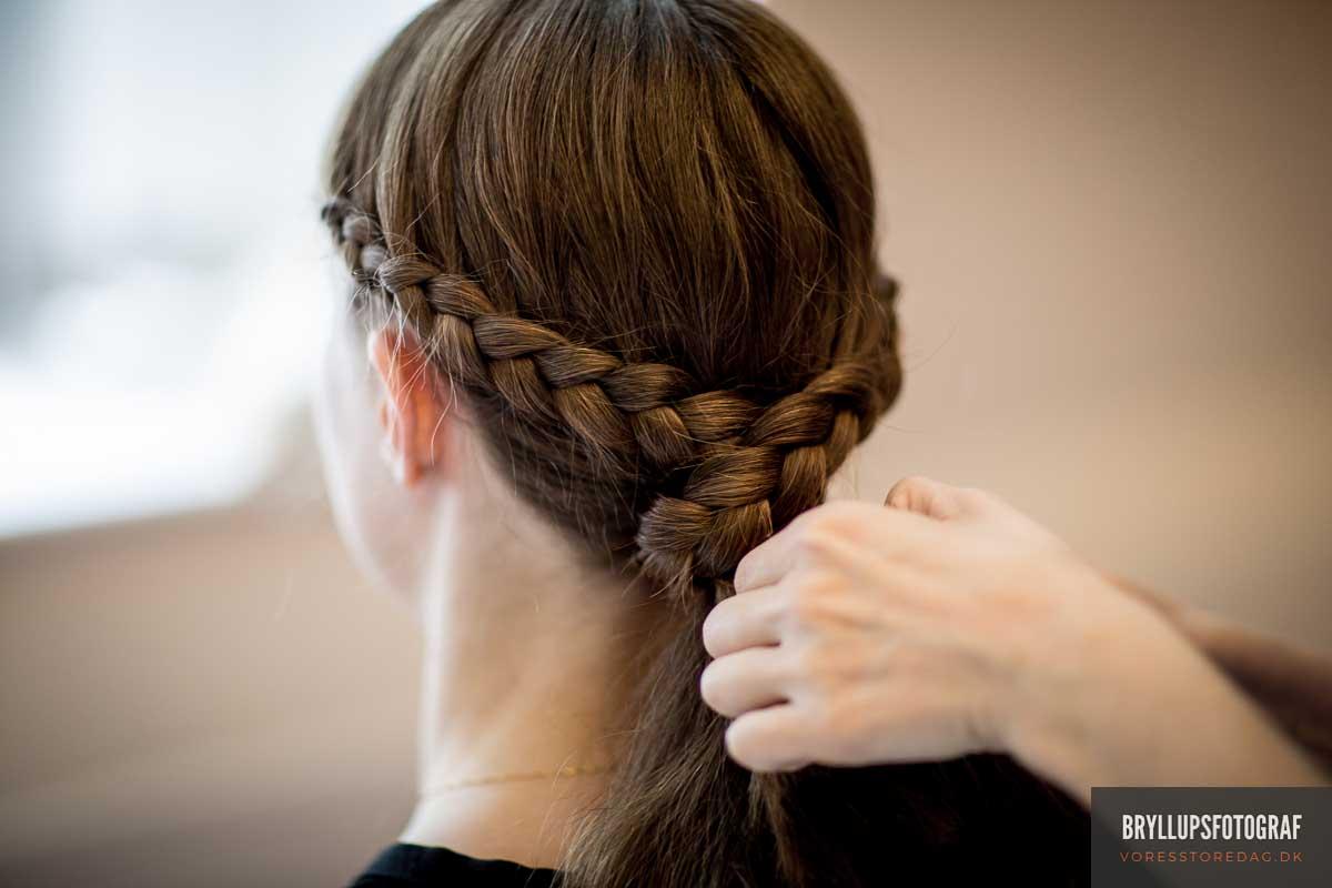 brudens hår Skarrildhus