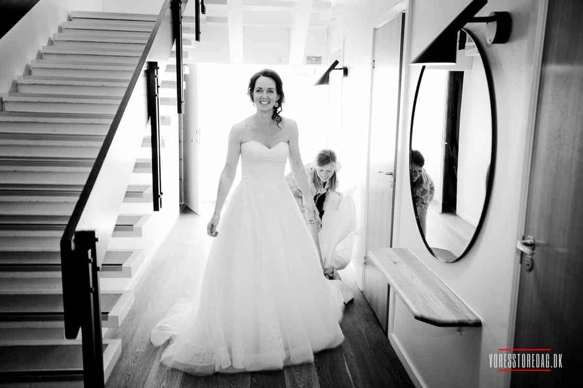 bruden bryllup ved Varna i Aarhus