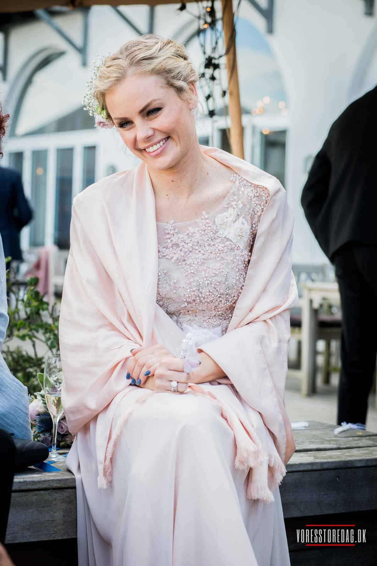 Bryllupskørsel på Sjælland