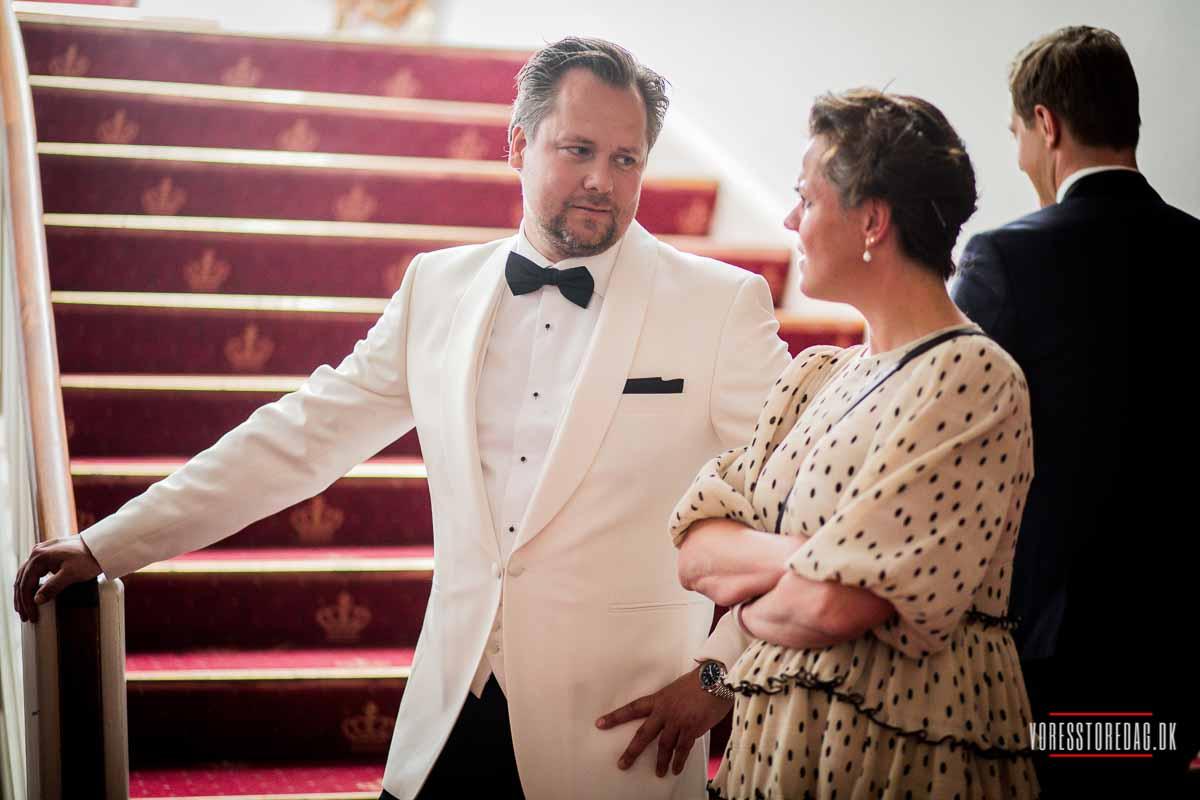 Kreativ fotograf til bryllup på Sjælland