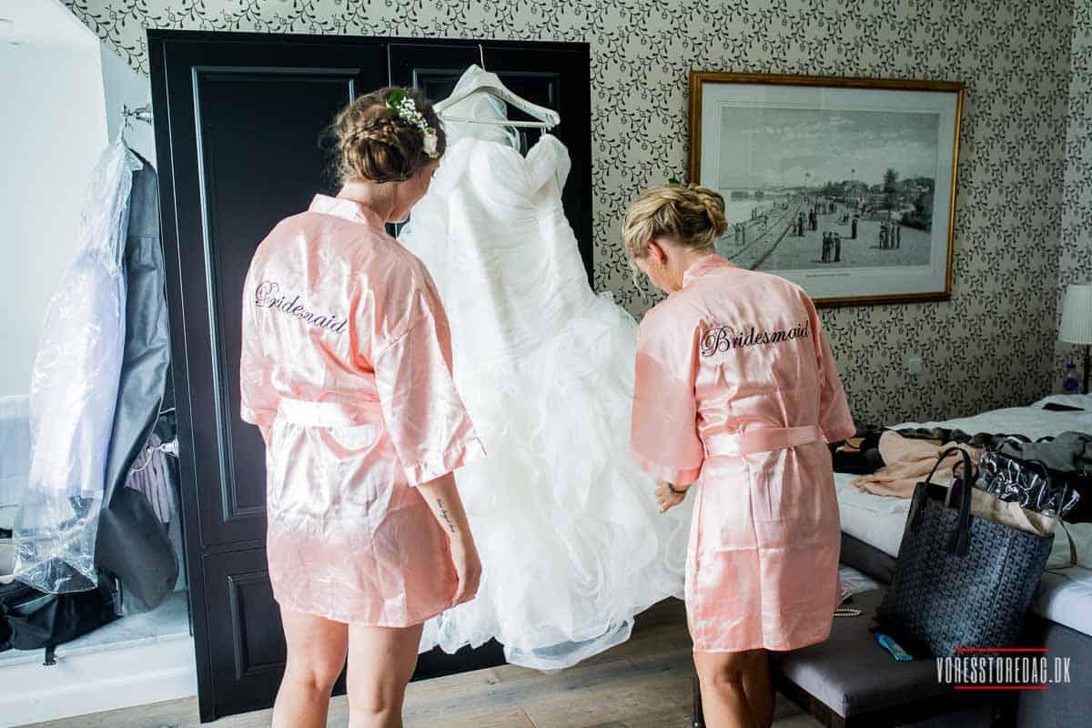 Fotograf til bryllup i Nordsjælland