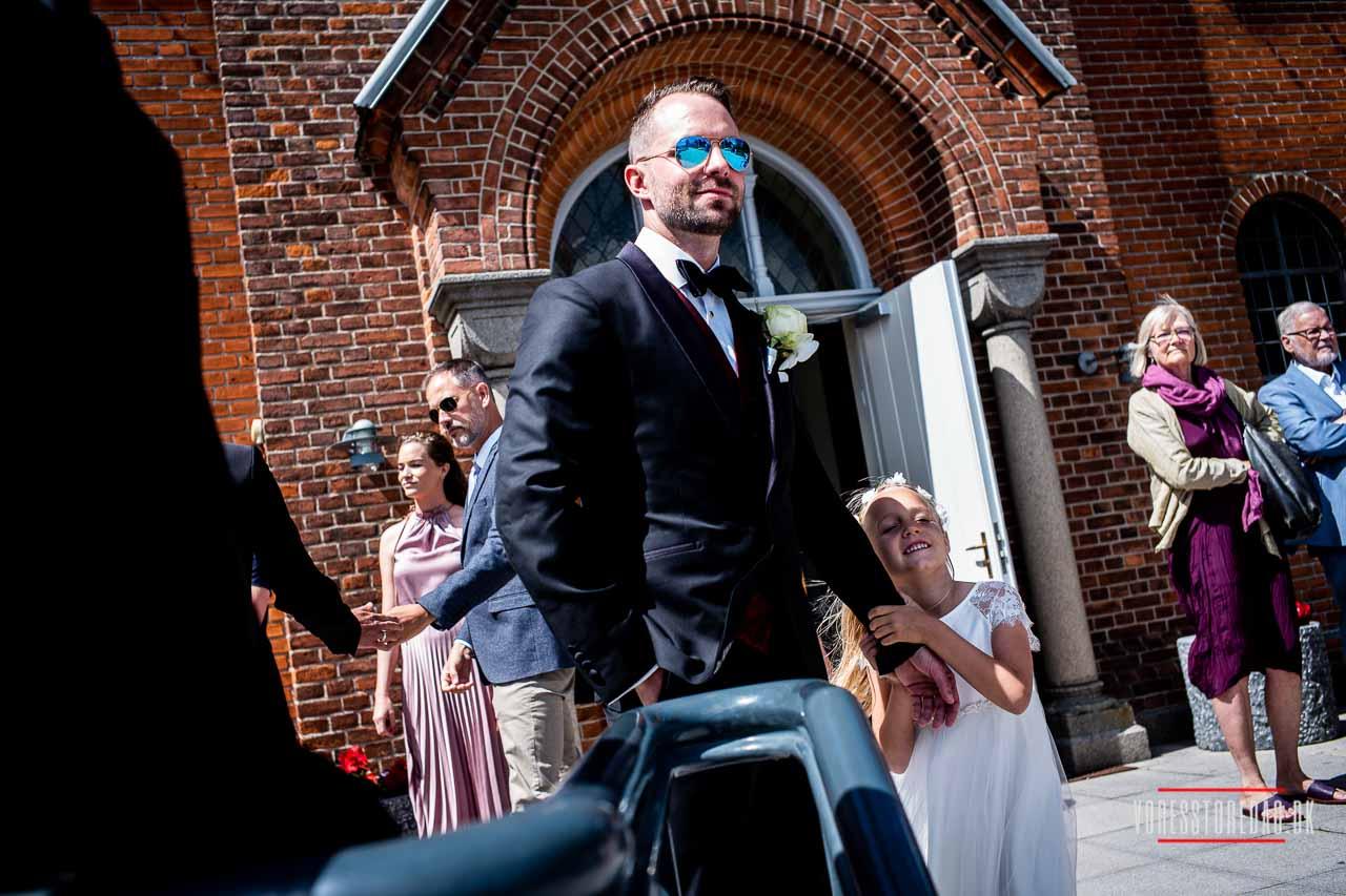 Eksklusiv bryllupsfotografering. Professionelt og lidt anderledes