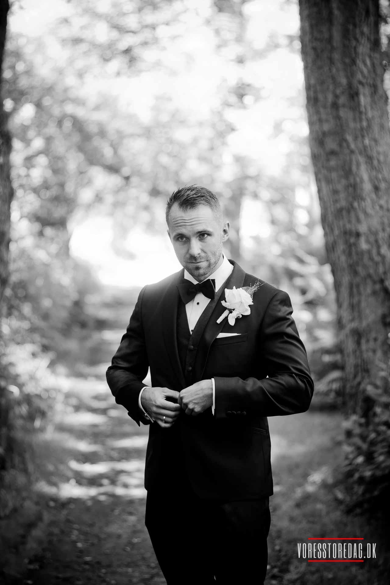 En dygtig bryllupsfotograf vil naturligvis selv kunne se mange muligheder