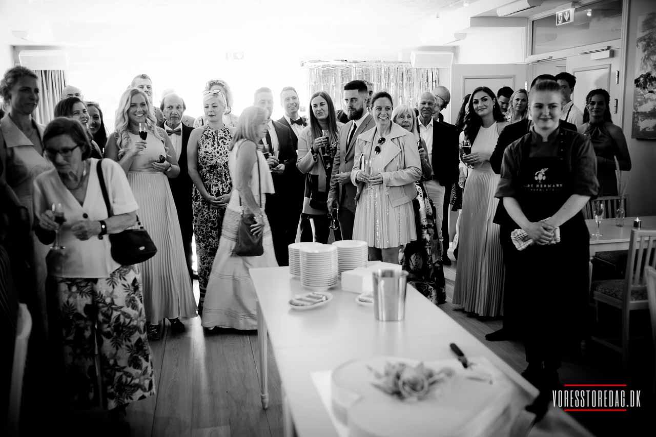 Bryllup på badehotellet — Hotel Bretagne Hornbæk