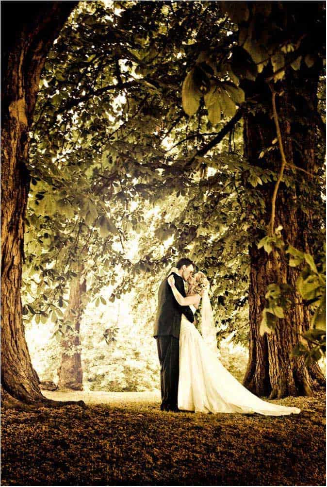 bryllupsbillede fotokunst