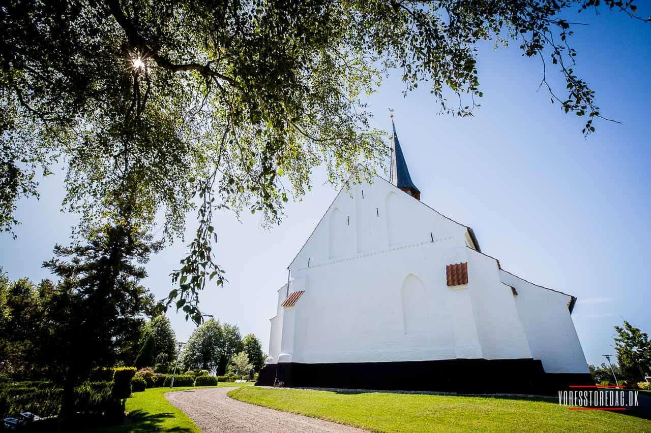 Kirke Hørup var en lille landsby ved den højtliggende kirke godt 1 km nord for landsbyen Hørup