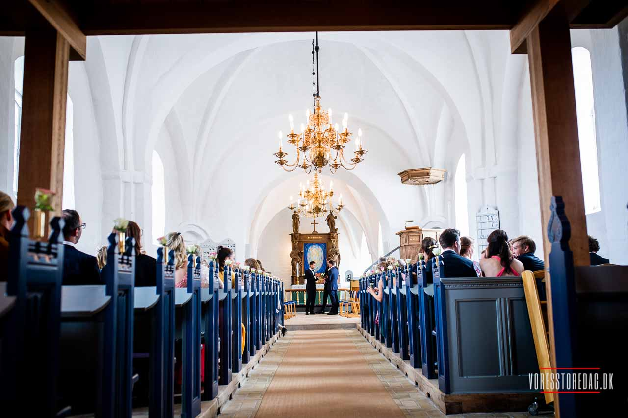Kauslunde Kirke bryllup