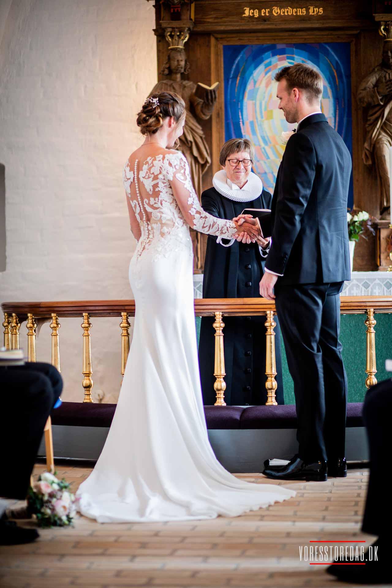 Romantisk bryllup hos Comwell Middelfart