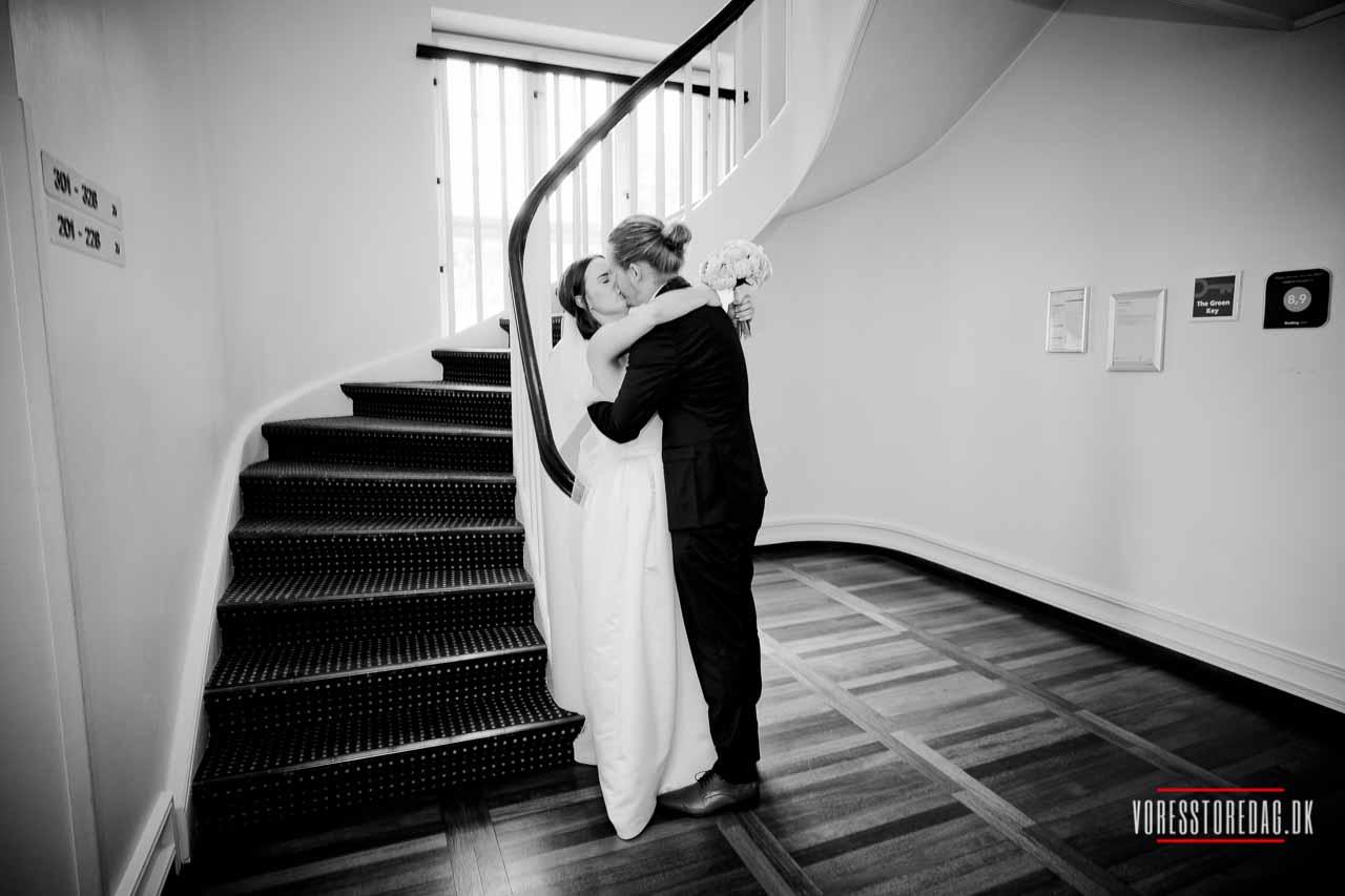 Bryllup på Koldingfjord