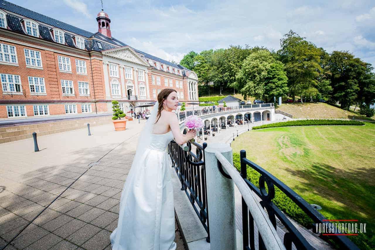 Bryllupsfotografens billeder fra bryllup på Hotel Koldingfjord