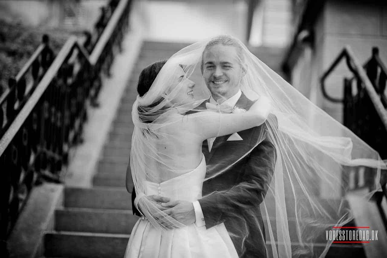 Bryllups album fotograf hotel koldingfjord