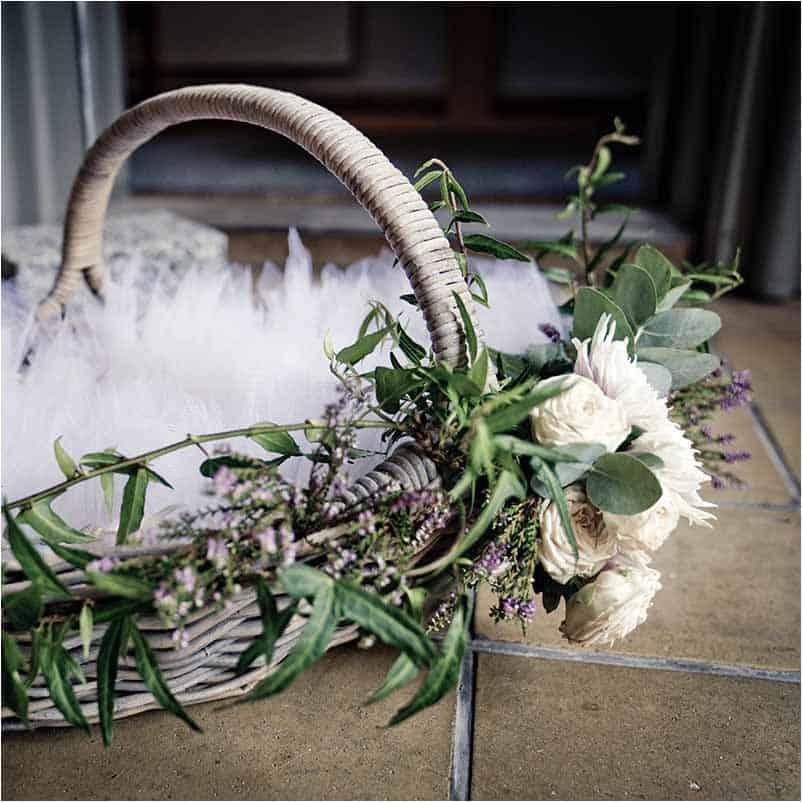 Bryllupsfest eller bryllupsreception i smukke omgivelser