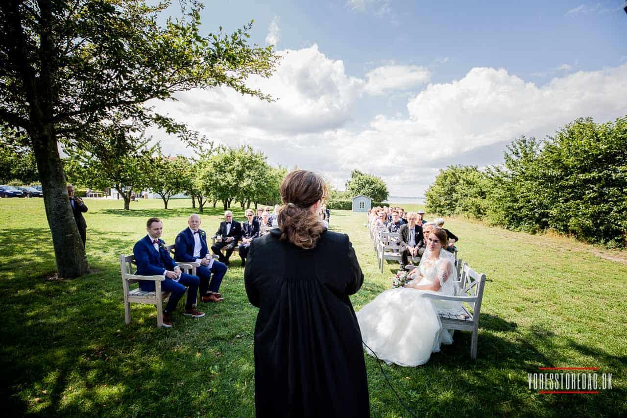Bryllup på Borre knob
