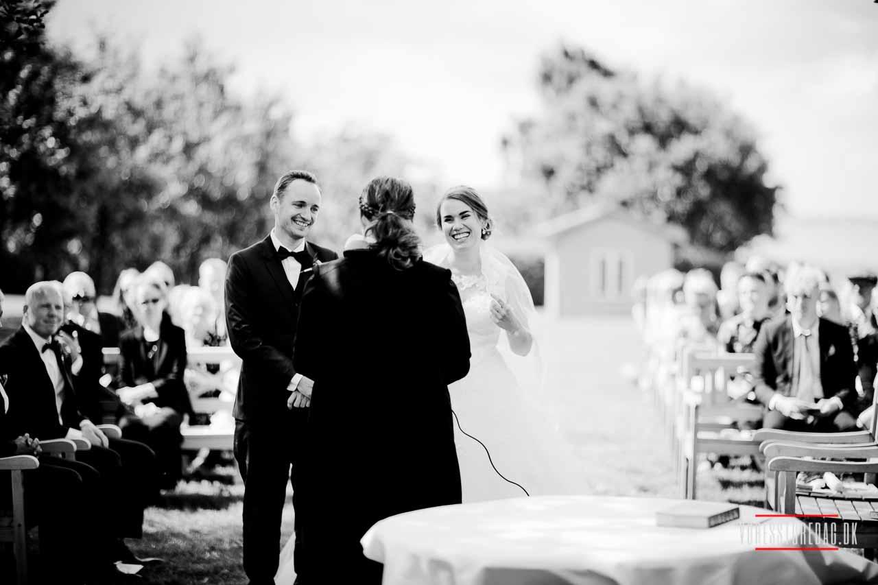 Borre Knob Konferencecenter bryllup - Fotograf bryllup