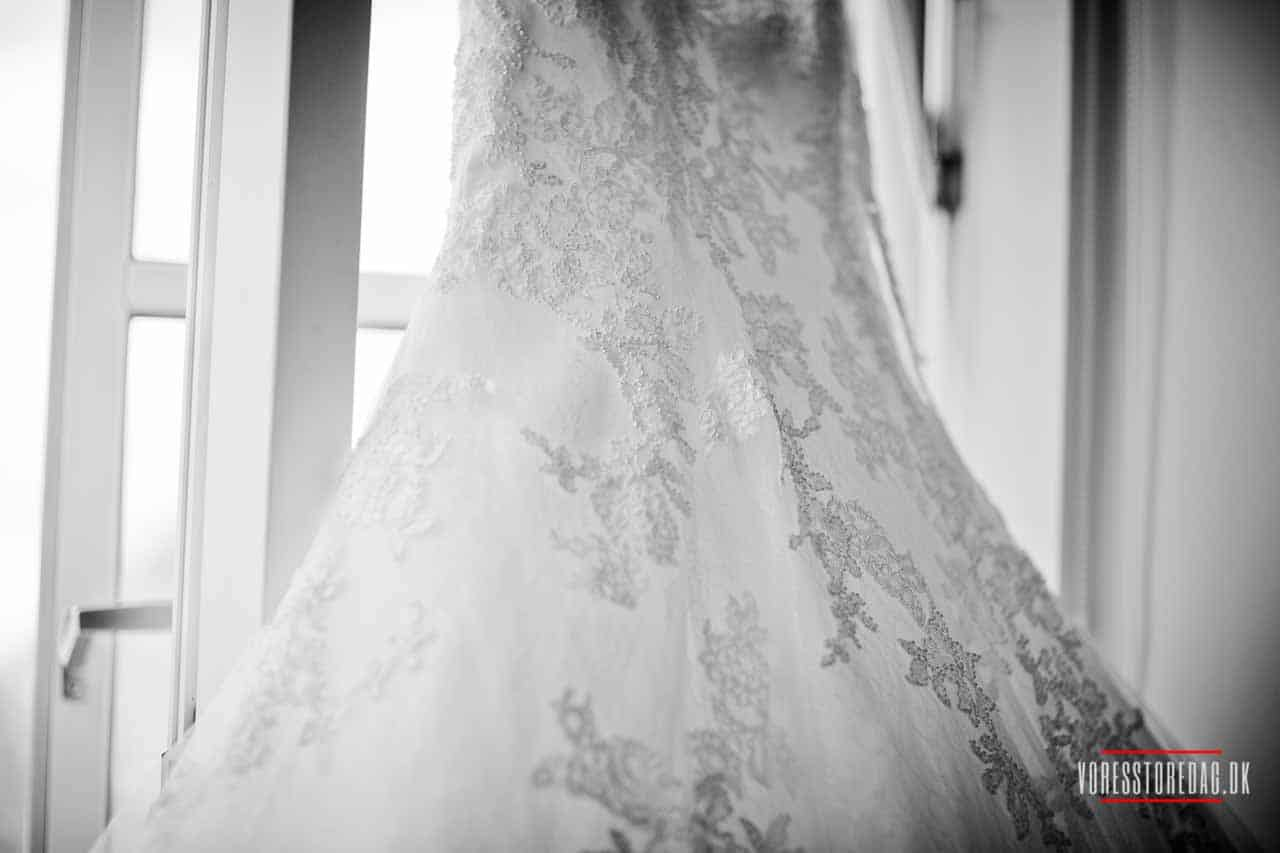brudekjole Borre Knob bryllup