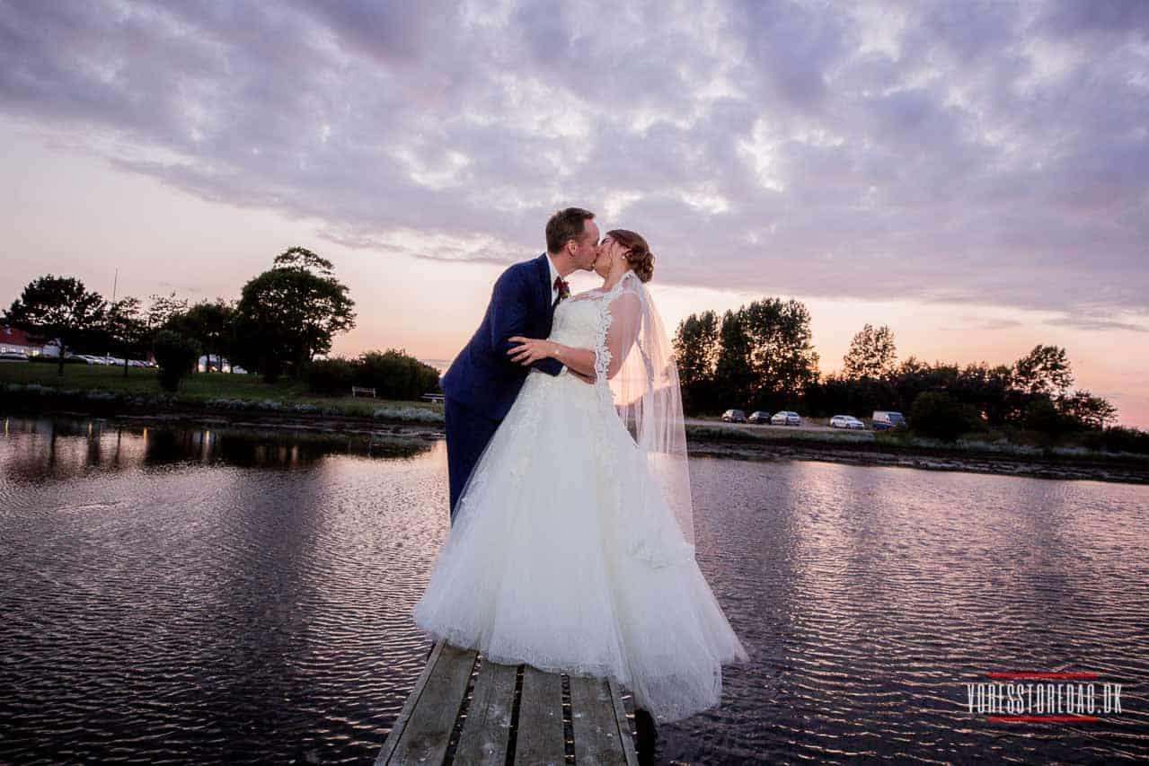 Smukke bryllupsbilleder fra vielsen til brudevalsen