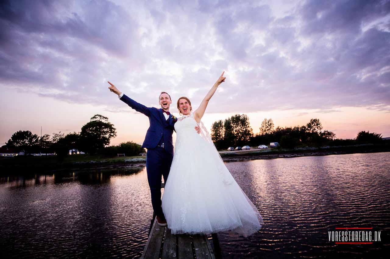 bryllupsfoto Borre Knob Juelsminde